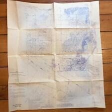 Vintage Yankeetown Indiana Kentucky Abandoned Coal Mines USGS Original Chart Map