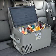 49L Portable Refrigerator Car Cooler Freezer Electric Mini Travel Fridge Icebox