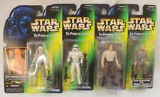 ~NEW~ 4 STAR WARS TOY MEN FIGURINES COLLECTOR ITEMS HAN SOLO LUKE SKYWALKER SW32