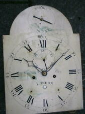 More details for c1790 8day longcase grandfather clock dial+movement 12x16+1/2 inch tho pace of