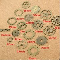 Charms Making Crafts Arts Steampunk Cyberpunk Jewelry Cogs & Gears Watch Parts