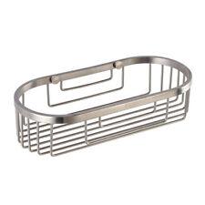 304 Stainless Steel Shower Caddy Wall Basket Shelf Bathroom Organizer