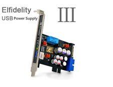 Elfidelity USB Power Supply 3 USB Internal Filter PC HiFi Preamp For USB Audio