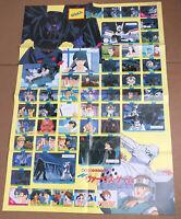 "Vintage Animage Magazine Promo Poster Rare Anime 1990 90's 20""x28"""
