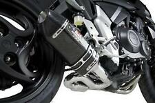 Honda CB1000R 2011-2013 R-77 Race 3/4 Exhaust Carbon Fiber Sleeve by Yoshimura