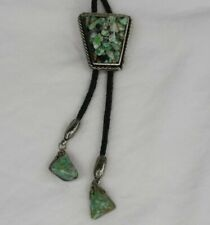Cluster Ships Next Day Bolo Tie Polished Stone