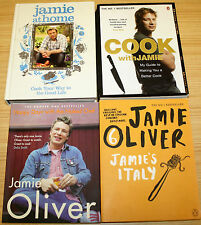 Jamie Oliver x4 - Jamie At Home, Cook With, Happy Days Naked Chef, Jamie's Italy