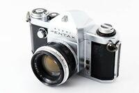 *Rare!! Excellent+5* Asahi Pentax AP + Takumar 58mm f/2 Lens w/ hood from JAPAN