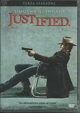 Justified. Stagione 3 (2012) 3 DVD