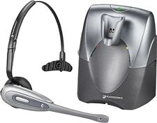 Plantronics CS55 Wireless Headset Over the Head with HL10 Lifter DECT 6.0 System