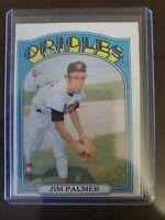 1972 Topps Baseball Card #270 Jim Palmer HOF Baltimore Orioles - Ex-ExMt