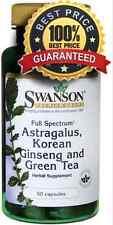 Full Spectrum Astragalus, Korean Ginseng & Green Tea 60 Capsules