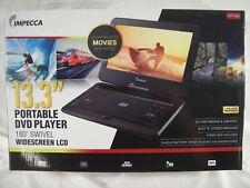"Impecca 13.3'"" Portable DVD Player DVP-1330K NEW"