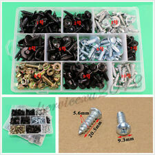 220 Pcs Mixed Size Autos Body Fender Self Tapping Screws M4 M5 M6 Rivet Fastener