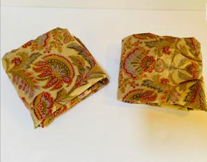 RALPH LAUREN Chapman Jacobean Pillowshams Bedding Floral Paisley Exc