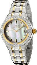 Invicta 0267 Wildflower Classique Date MOP Dial Diamond Bezel Womens Watch