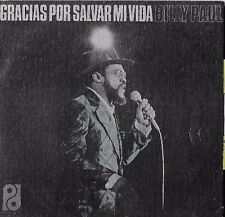"BILLY PAUL 7""PS Spain 1974 Thanks for saving my life"