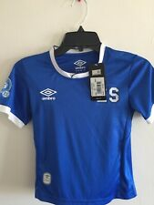 Umbro El Salvador Blue White Training Soccer Jersey 2019 Size YS Only