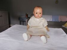 Vintage Horseman Composition Doll baby - Soft Body