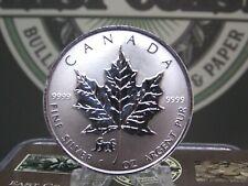 "1998 $5 Canadian Silver Maple Leaf Reverse Proof Lunar ""TIGER"" Privy ECC&C, Inc."