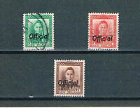 "New Zealand - 1938 - KGVI ""OFFICIALS"" - SC O72-O74 [SG See Descpt] Mint/Used 20"