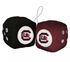 """South Carolina Gamecocks 3"""" Plush Fuzzy Dice New In Package!"""