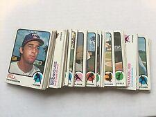 1973 Topps Baseball Card Lot 300 Different Cards Starter Set VG or Better Cond