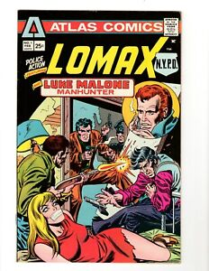 POLICE ACTION #1 1975 -**1st APP LOMAX NYPD, MALONE**- (VF+ 8.5)