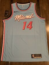 Tyler Herro Blue Miami Heat Vice City Jersey Size Large New With Tags