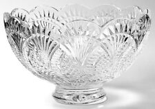 """Waterford Crystal SEAHORSE 10"""" Footed Centerpiece Bowl - NICE!"""