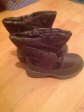 Lovely Boys Camouflage Snow Boots Size 8 New Shop Clearance