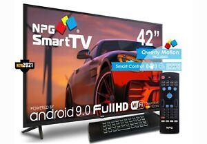 "TV NPG S430L42F 2021 - 42"" Full HD Smart TV Android 9.0, Quad Core, WiFi, PVR"