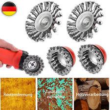 Winkelschleifer Bürste Auswahl TYROLIT Topfbürste Drahtbürste Stahl M14 f