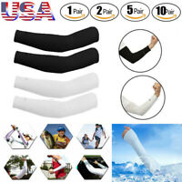 Men Women Cooling Arm Sleeve UV Sun Protection Outdoor Sports Protection Lot