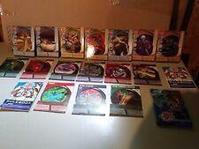 Bakugen Cards, Rulebooks, Crayons