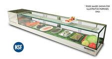 New 84 7 Ft Wide Flat Top Self Contained Sushi Case Garasu 7l Or Garasu 7r