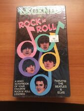 Legends of Rock n Roll (VHS) Featuring The Beatles and Elvis...47