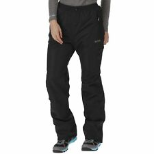 REGATTA LADIES AMELIE III WATERPROOF BREATHABLE OVER TROUSERS BLACK RWW264