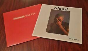 FRANK OCEAN BLOND & CHANNEL ORANGE DOUBLE LP'S COLOURED VINYL