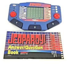 1997 Tiger JEOPARDY! Electronic LCD Handheld Game Age 8+ Model 7-581