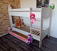 Hochbett Stockbett Kinderbett Kinderzimmer Etagenbett Jugendbett  Rollrost
