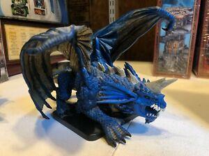 D&D Icons - Gargantuan Blue Dragon - 1/1, LE 500 2007 Wizards - NEW out of box