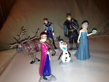 Frozen Movie Figures Cake Toppers Fun Holiday Gift Elsa Anna Olaf US Seller