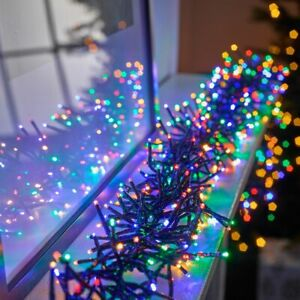 Christmas 240/480/720/960 LED Cluster Mains String Fairy Indoor/Outdoor Lights