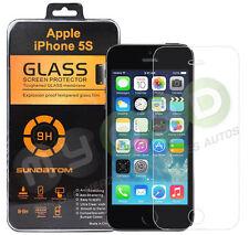 9H Panzerglasfolie iPhone 5s Schutzglas Schutzfolie Sundatom TOP Markenware