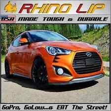 Veloster Hyundai Universal Bumper Rubber Chin Lip Splitter Spoiler Edge Trim Lip