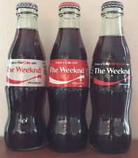 Share A Coke With 'The Weeknd' 3 Custom Bottles - Coke, Diet Coke, & Coke Zero