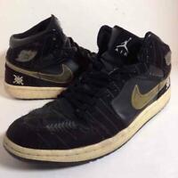 AIR JORDAN1 Men's Sneakers MID WHITE SOX MLB 29cm US 11 Black Major League