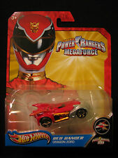 Hot Wheels Saban's Power Rangers Megaforce Red Ranger Dragon Zord