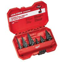 Milwaukee 48-89-9224 Step Drill Bit Set (6 PC) - IN STOCK